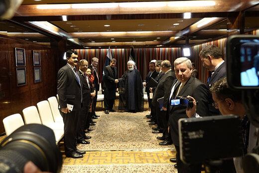 دیدار  روحانی با نخستوزیر پاکستان