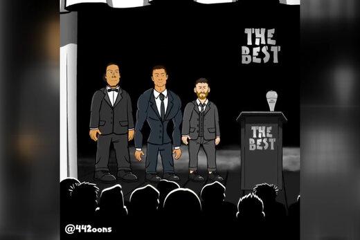 فیلم | شوخی انیمیشنی با جایزه جدید مسی!