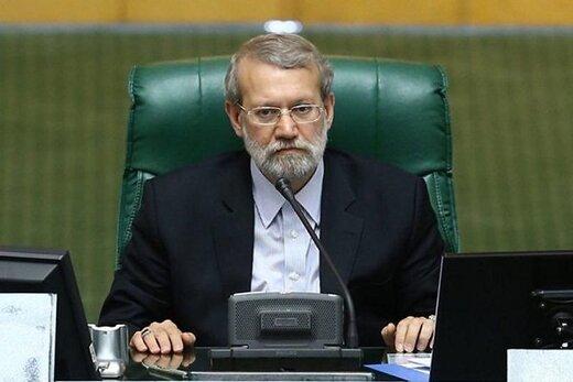 فیلم | تقدیر لاریجانی از مقام معظم رهبری بهخاطر ابلاغ سیاستهای کلی نظام