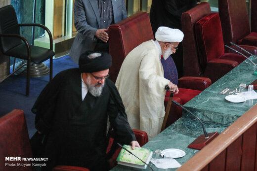 افتتاحیه هفتمین اجلاسیه دوره پنجم مجلس خبرگان رهبری