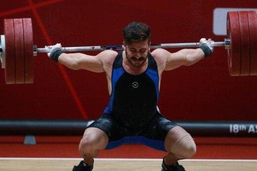 رکورد پایین کیانوش رستمی در لیگ برتر وزنهبرداری