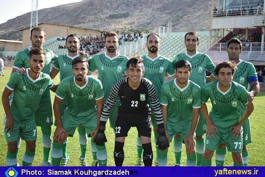 خیبر خرم آباد دومین بازی خود را برد