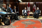 Rouhani discusses mutual cooperation with Swiss counterpart