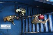 تصاویر | آتشنشانان تهرانی برج میلاد را فتح کردند