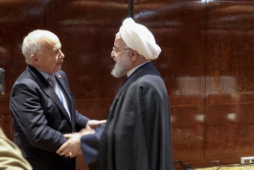 دیدار روحانی با رئیسجمهور سوئیس