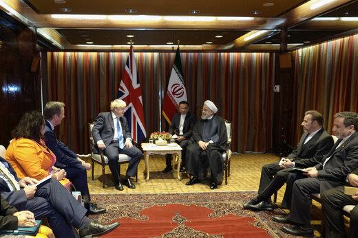 دیدار روحانی با نخستوزیر انگلیس