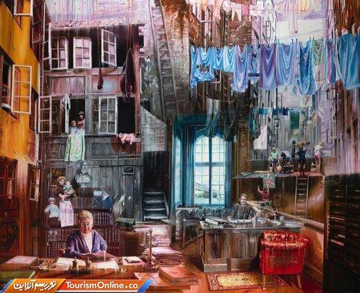 نقاشی رنگ روغن جاکوب بروستراپ، نقاش اهل دانمارک