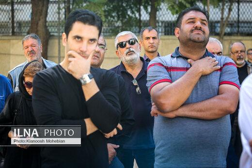 مراسم تشییع پیکر حمید سهیلی، مستندساز پیشکسوت