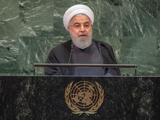 روحانی: پاسخ ما به مذاکره تحت تحریم، نه است/صبر ایران حدی دارد