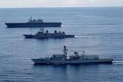 همزمان با رزمایش پاکستان، هند ناو جنگی به دریای عرب فرستاد
