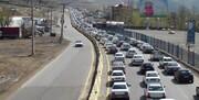 ترافیک در هراز و فیروزکوه نیمه سنگین است