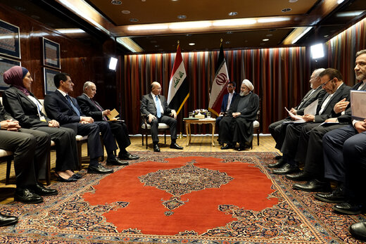 Iranian, Iraqi presidents meet in New York