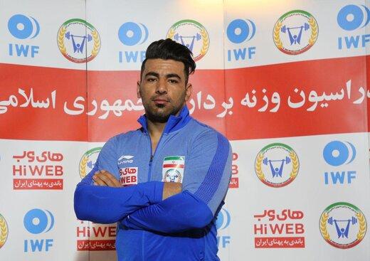 تصمیم فدراسیون وزنه برداری قطعی شده؛علی هاشمی المپیکی میشود؟