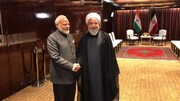Rouhani reviews int'l issues with Indian Premier