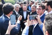 واکنش واعظی به شعارهای مردم در فرودگاه مهرآباد برای استقبال از حسن روحانی
