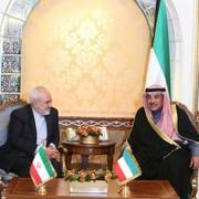 دیدار ظریف با همتای کویتی