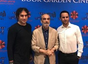 بازیکنان استقلال و چهرههای هنری در اکران یک فیلم سینمایی | تصاویر