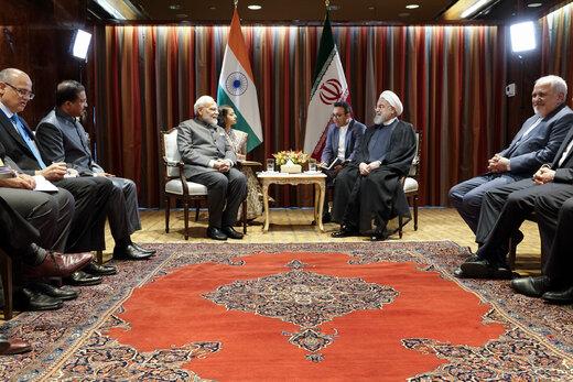 روایت نخست وزیر هند از برخورد ویژه رهبری با او /درخواست روحانی از نارندرا مودی