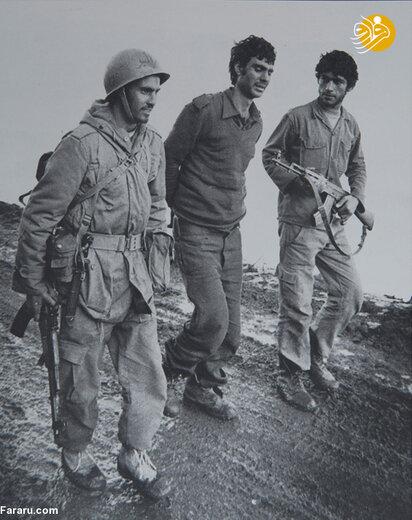 سرباز عراقی اسیر در جبهه غرب