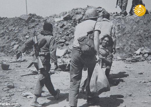 کمک به مجروحین جنگی عراق
