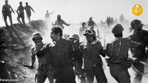 اسرای عراقی در عملیات محرم