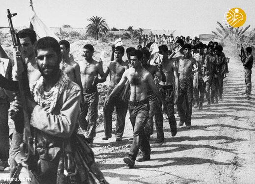 اسرای عراقی در عملیات بیت المقدس