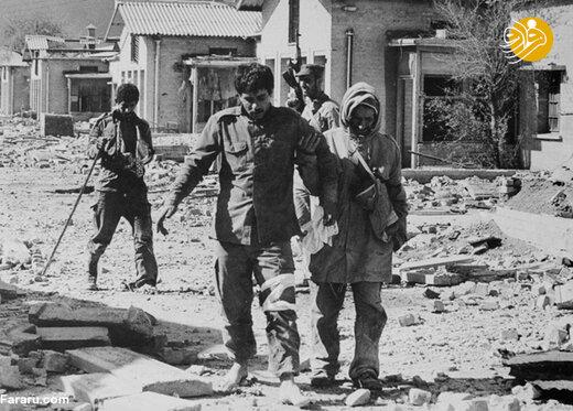 اسیر عراقی در جبهه جنوب