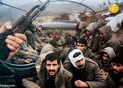 اسرای عراقی در جبهه غرب