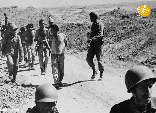 اسرای عراقی در عملیات کربلای 1
