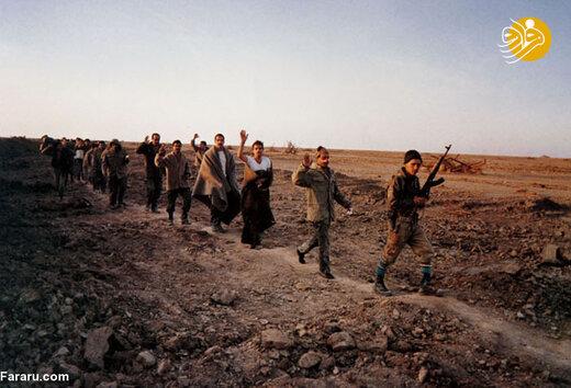 اسرای عراقی در عملیات کربلای 5