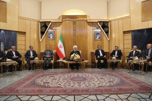 فیلم | روحانی: گفتند آرامکو را شما زدید چون حملات از جهت شمال بوده!