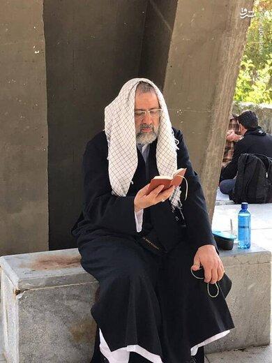 حجتالاسلام رئیسی در مقبرةالشهداء کلکچال