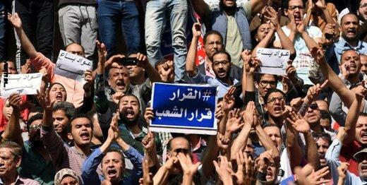 آغاز تظاهرات گسترده در شهرهای مصر