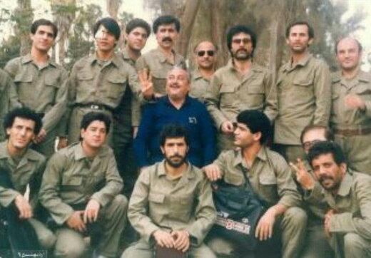 تصاویر  وقتی اعضای ارکستر سمفونیک تهران به جبهه رفتند
