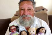 فیلم | بیماری این عروسکها واگیر ندارد!