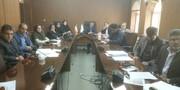 برگزاری جلسه ارزیابی طرح گردشگری کشت و صنعت لرستان در اداره کل محیط زیست