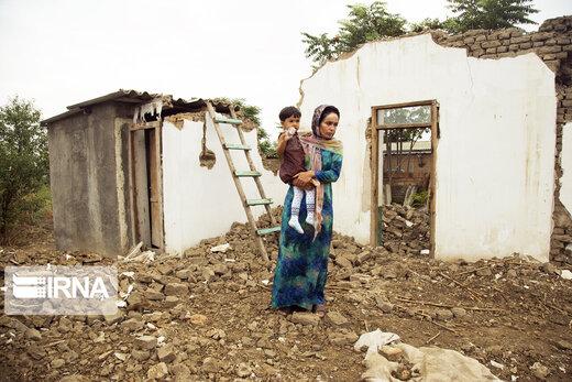 روستاهای چنسبیلی و تازهآباد آققلا؛ 6 ماه پس از سیل