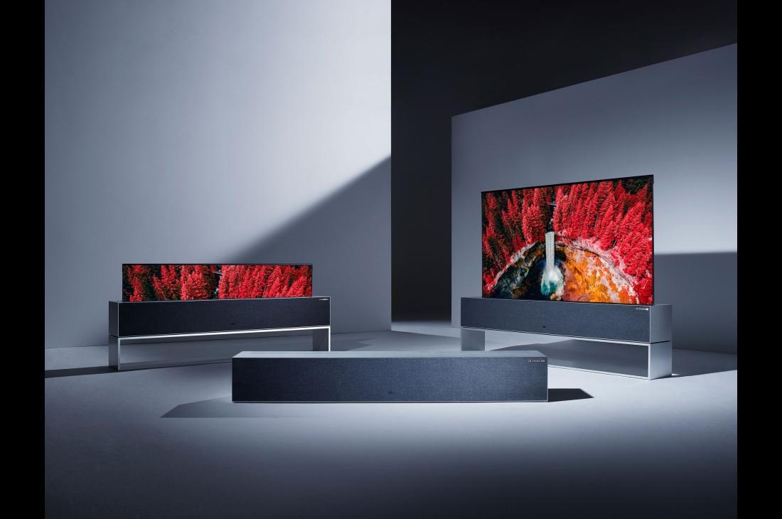 یک طراحی فوقالعاده؛ تلویزیون رول شدنی الجی