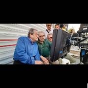 تصویری معنادار برای طرفداران سینمای کیمیایی/ احمدرضا احمدی پشتصحنه «خون شد»