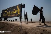 تصاویر | نوای «من البحر الی النحر» در آغاز راهپیمایی بزرگ اربعین