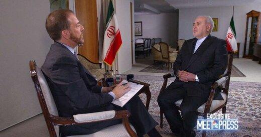 ظریف به ان بی سی گفت: برای ما مزیتی در انتخابات شما وجود ندارد که در آن مداخله کنیم