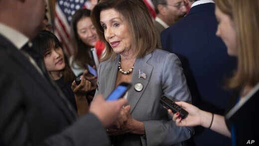 پلوسی: استیضاح ترامپ ارزش  از دست دادن مجلس را دارد