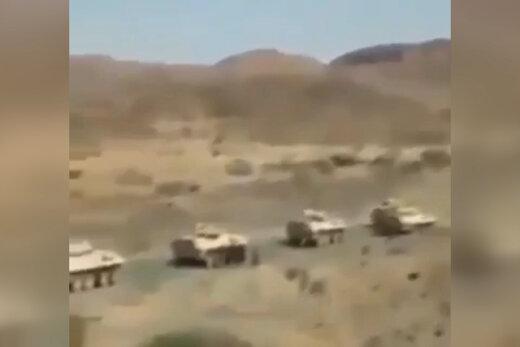 فیلم   غنایم نیروهای عربستانی به دست یمنیها افتاد