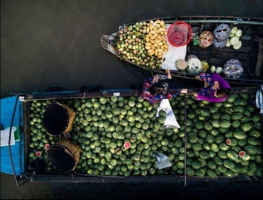 تصاویر | زیباییهای ویتنام را از بالا ببینید