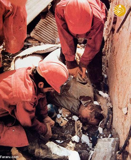 قربانیان بمباران عراق در تهران