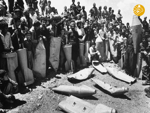 بانه در کردستان پس از بمباران