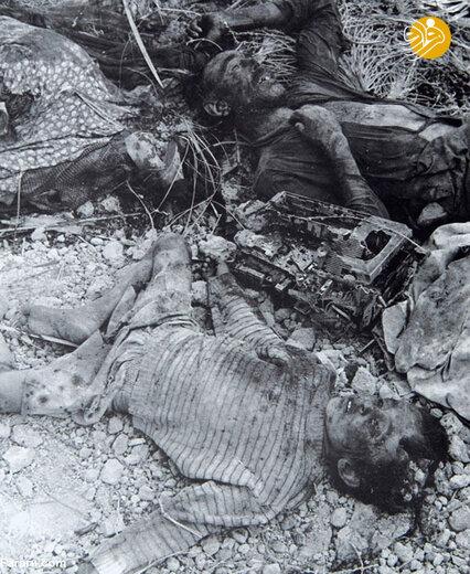 شهادت همه اعضای یک خانواده در بمباران آبادان