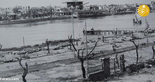 خرمشهر پس از بمباران
