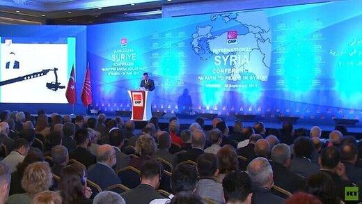 ترکیه برای مقامهای سوریه ویزا صادر نکرد
