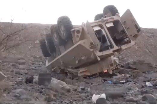فیلم | لشکر شکست خورده سعودی پس از حمله اخیر نیروهای نصرالله یمن